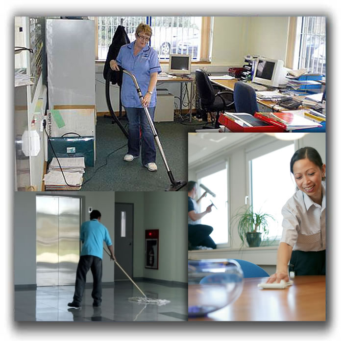 Commercial Cleaning Se...