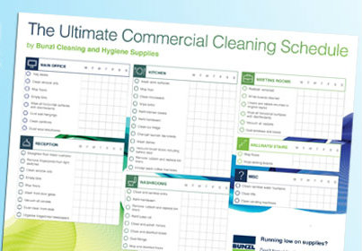 Cleaning Timetable