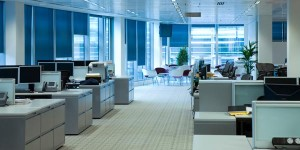 Neat and tidy Office premises