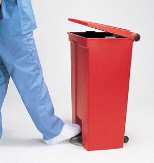 foot operated bin