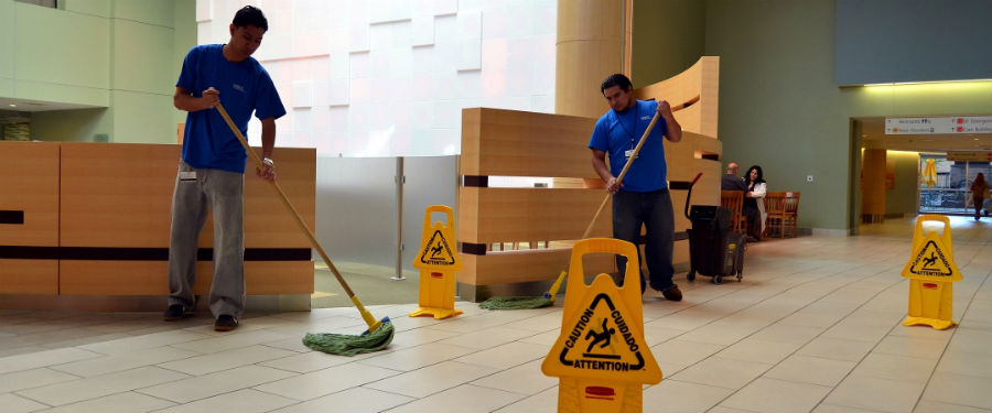 cleaning for business establishment