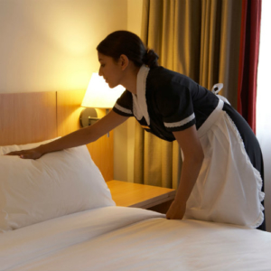 Singapore hotel room upkeep